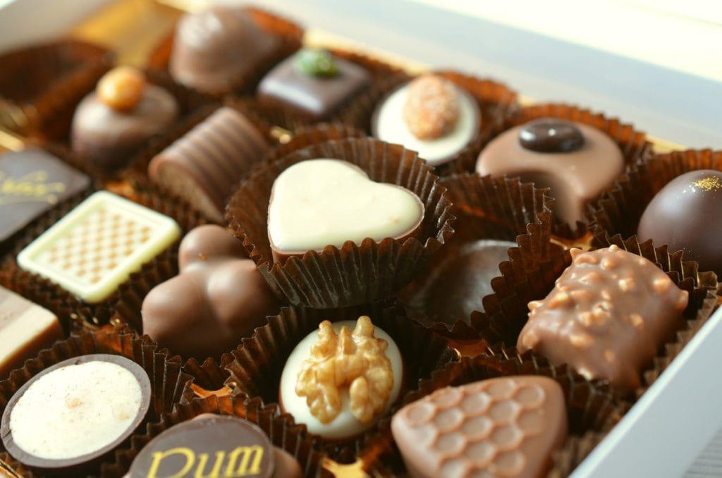 Lækker chokolade