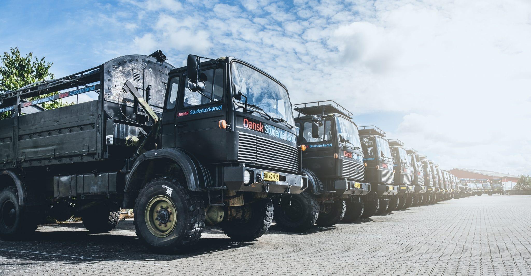Studentervogne-lastbiler-Dansk-Studenterkørsel