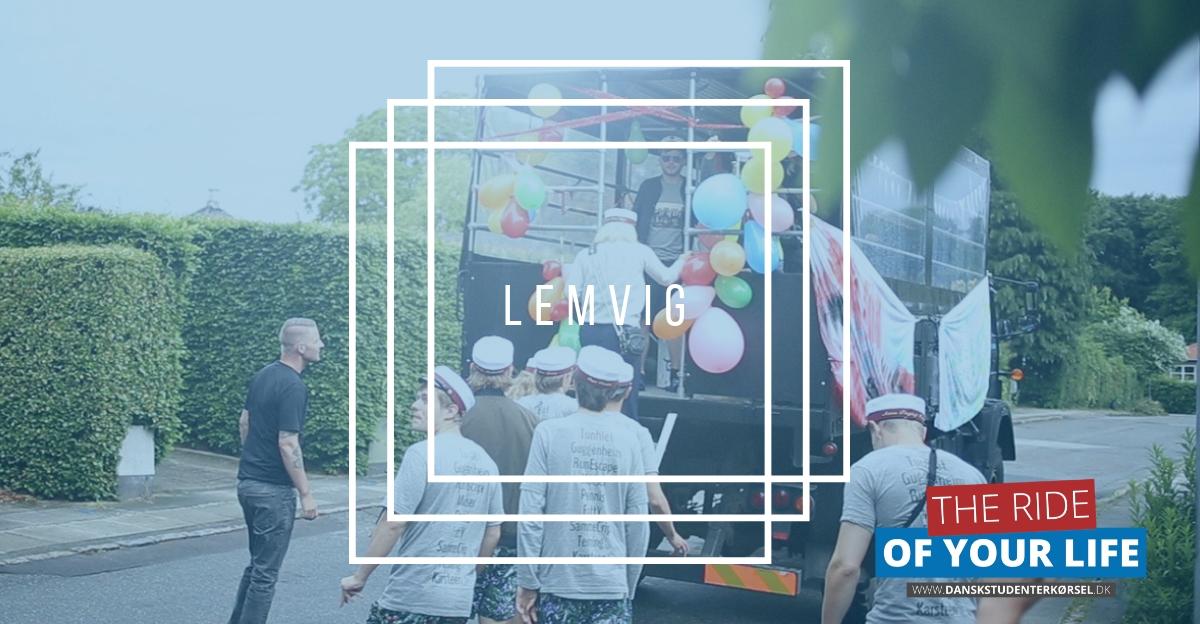 Studenterkørsel i Lemvig