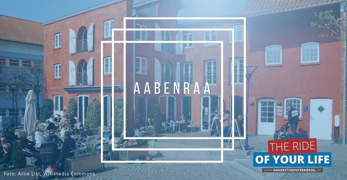 Studenterkørsel i Aabenraa