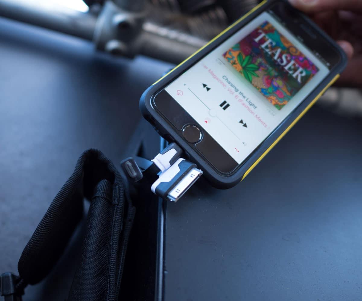 Oplad din mobil på studenterkørslen